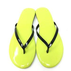 New Yosi Samra Roee Neon Flip Flops Size: 6 & 7